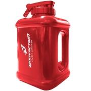 Galão Garrafa Água Bebida Academia 1,6 Litros Vermelho