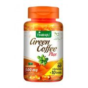 Green Coffe Plus 500mg com 70 cápsulas Tiaraju