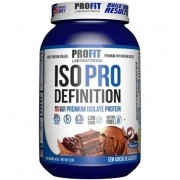Iso Pro Whey Definition 907g Sabor Chocolate Profit