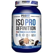 Iso Pro Whey Definition 907g Sabor Cookies Profit