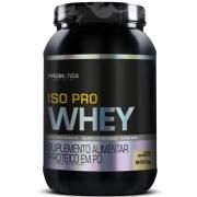 Iso Pro Whey Isolado 900g Sabor Baunilha Probiótica