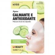 Kiss New York Pepino Calmante e Antioxidante Máscara Facial