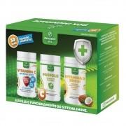 Kit Imunidade Vitamina C + Propolis + Vitamina D3 2000UI