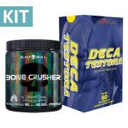 Kit Pré Treino Bone Crusher 300g + Deca Testona com 60 comprimidos