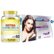 Kit Suplevit Mulher + Biotina Mais Crescimento e Firmeza