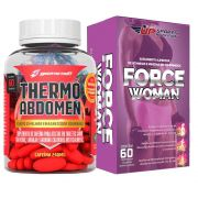 Kit Thermo Abdomen com 60 Comprimidos + Force Woman com 60 comprimidos