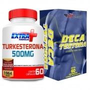 Kit Turkesterona 500mg C/ 60 + Deca Testona C/ 60