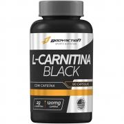 L-Carnitina Black 2g Cafeína 120mg 90 cápsulas Bodyaction