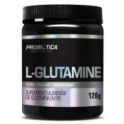 L-Glutamine Pura Powder 5000mg com 120g Probiótica