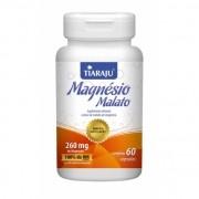 Magnésio de Malato 260mg com 60 cápsulas Tiaraju