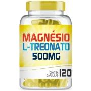 Magnésio L-Treonato 500mg com 120 cápsulas