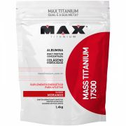Mass Titanium 17500 1,4kg - Morango - Max Titanium