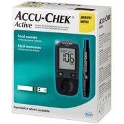 Medidor de Glicose Accu-Chek Active Completo
