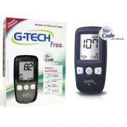 Medidor de Glicose G-Tech Free No Code com 10 tiras