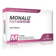 Monaliz Meu Controle 30 Comprimidos Power Supplements