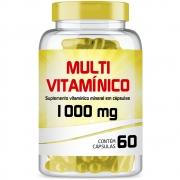 Multivitamínico de A-Z 1000mg com 60 cápsulas gelatinosas