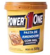 Pasta Amendoim Com Mel De Guaraná Power One 500g