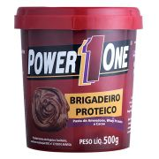 Pasta de Amendoim Integral Brigadeiro 500g - Power One