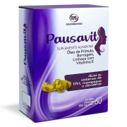 Pausavit 1000mg TPM Menopausa com 60 cápsulas Bedalm