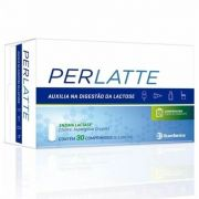 Perlatte com 30 comprimidos Enzima Lactase