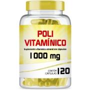 Polivitamínico de A-Z 1000mg com 120 cápsulas gelatinosas