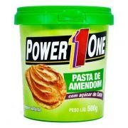 Power One Pasta Integral Amendoim 500g Açúcar De Coco