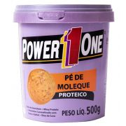 Power One Pasta Integral Amendoim 500g Pé De Moleque