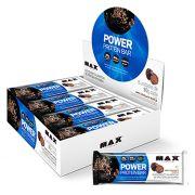 Power Protein Bar 8 unidades de 90g cada Max Titanium Chocolate Truffle