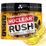 Pré Treino Power Nuclear Rush 100g Sabor Limão Body Action