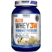 Pro Whey 3W 907g Sabor Baunilha Profit