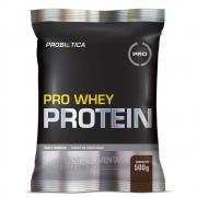 Pro Whey Protein Concentrado 500g Sabor Chocolate Probiótica