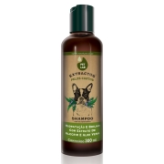 Shampoo para cães com pelos curtos 300mL Alecrim Aloe Vera