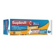 Suplevit C Zinco 1g com 10 comprimidos efervescentes