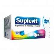 Suplevit com 60 comprimidos EMS