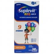 Suplevit Kids ABCD 9 Vitaminas 240mL Sabor Laranja EMS