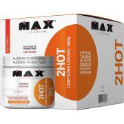 Termogênico 2hot 360g Tangerina (eletric Mandarin) Max Titanium