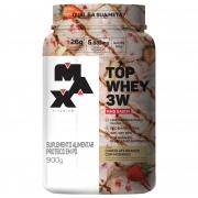 Top Whey 3W Mais Sabor 900g Chocolate Branco Max Titanium