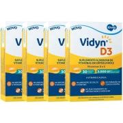 Vidyn D3 Vitamina D3 2.000UI com 120 cápsulas moles EMS