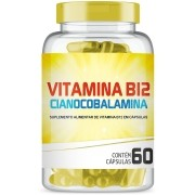 Vitamina B12 Cianocobalamina com 60 cápsulas