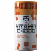 Vitamina C 1000mg com 100 comprimidos Under Labz