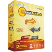 Vitamina C 1000mg Zinco Maxxx 10 comprimidos efevescentes