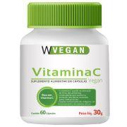 Vitamina C 500mg com 60 Cápsulas WVegan