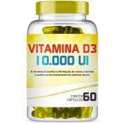 Vitamina D3 10.000 Ui com 60 Capsulas