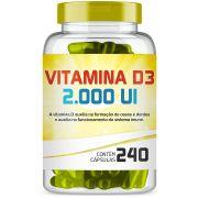 Vitamina D3 2.000 Ui com 240 Capsulas