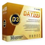 Vitamina D3 2.000UI com 30 Comprimidos Day D3 IDN Labz