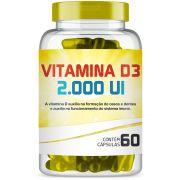 Vitamina D3 2.000ui com 60 Cápsulas
