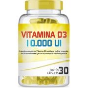 Vitamina D 10000UI com 30 Cápsulas
