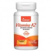 Vitamina K2 149mcg com 60 cápsulas sofgel Tiaraju