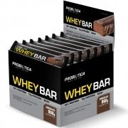 Whey Bar Whey Protein 24 Unidades 960g Chocolate Probiótica