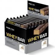 Whey Bar Whey Protein 24 Unidades Sabor Coco Probiótica